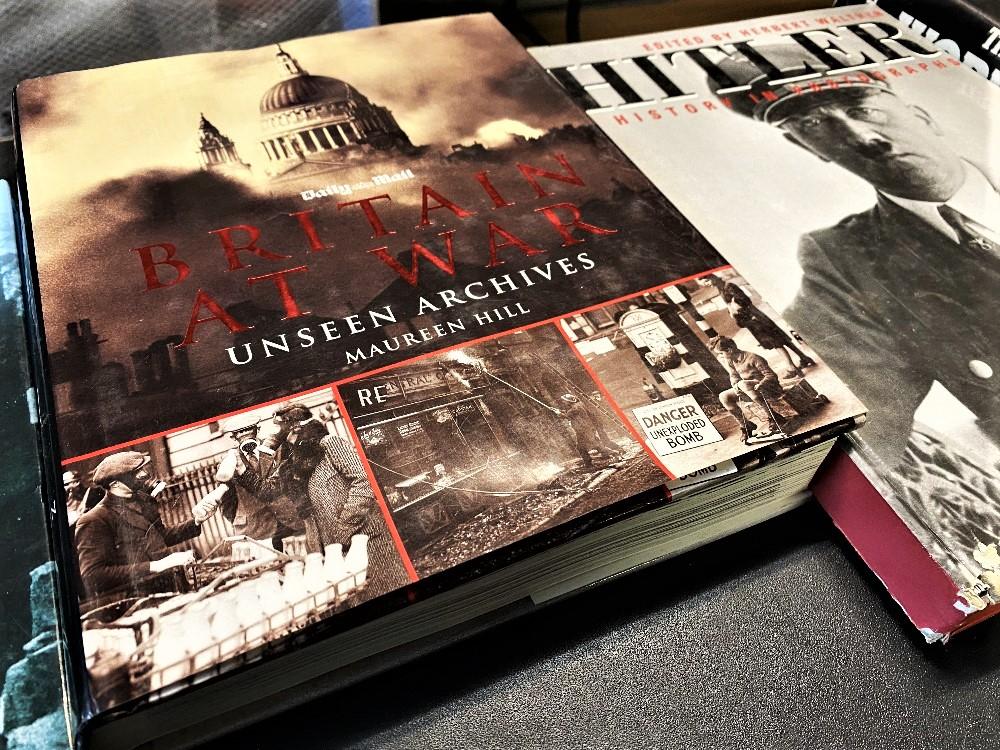 World War 2 Hardback Collection of Books