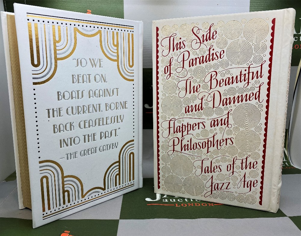 Barnes And Noble F Scott Fitzgerald Leather Bound Gold Leaf Special Edition Collection - Image 4 of 5