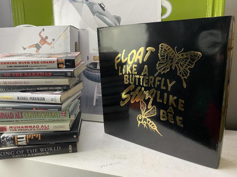 Tasched GOAT Muhammad Ali Hardback Life Story Book & Hardback Books - Image 5 of 7