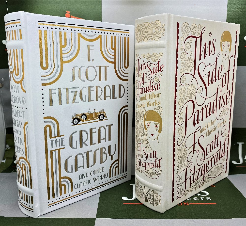 Barnes And Noble F Scott Fitzgerald Leather Bound Gold Leaf Special Edition Collection - Image 2 of 5
