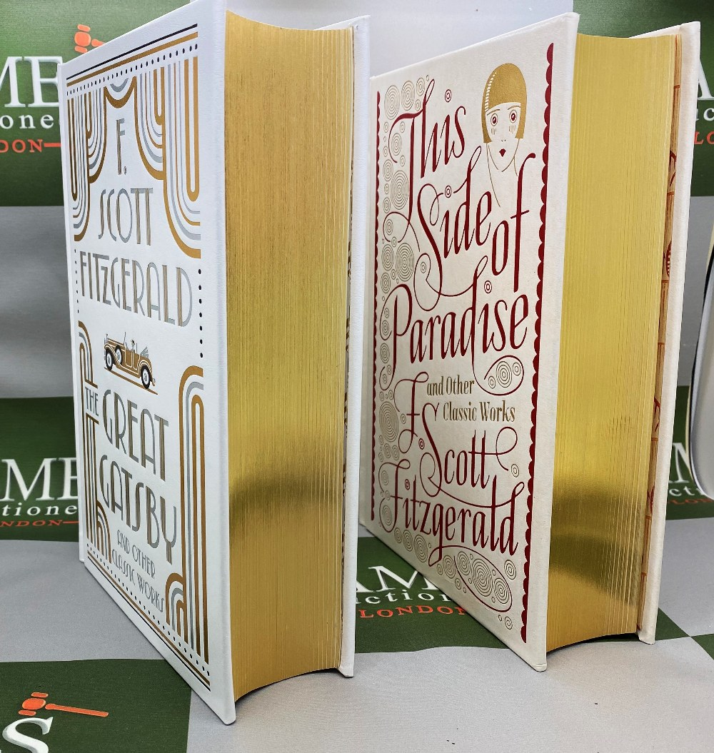 Barnes And Noble F Scott Fitzgerald Leather Bound Gold Leaf Special Edition Collection - Image 3 of 5