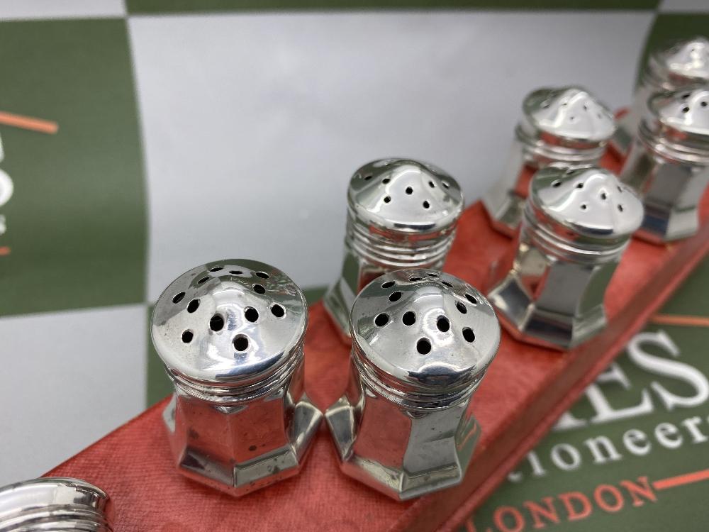Cartier Paris Vintage Collection Of Silver 925 Salt & Pepper Cruet Set - Image 5 of 6