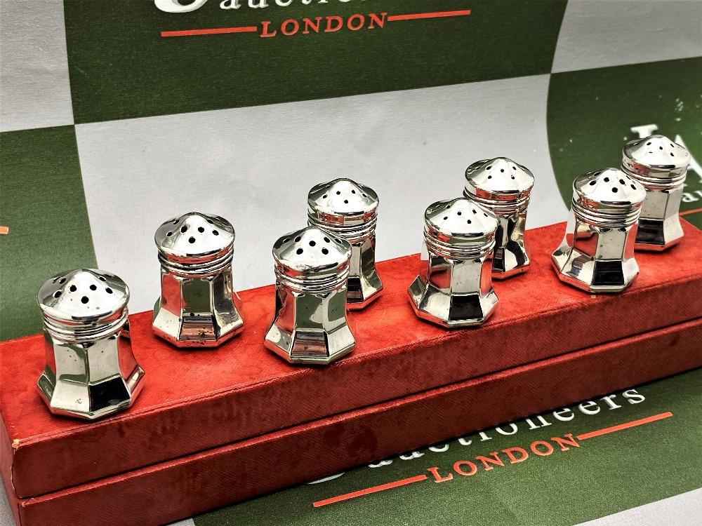 Cartier Paris Vintage Collection Of Silver 925 Salt & Pepper Cruet Set - Image 6 of 6