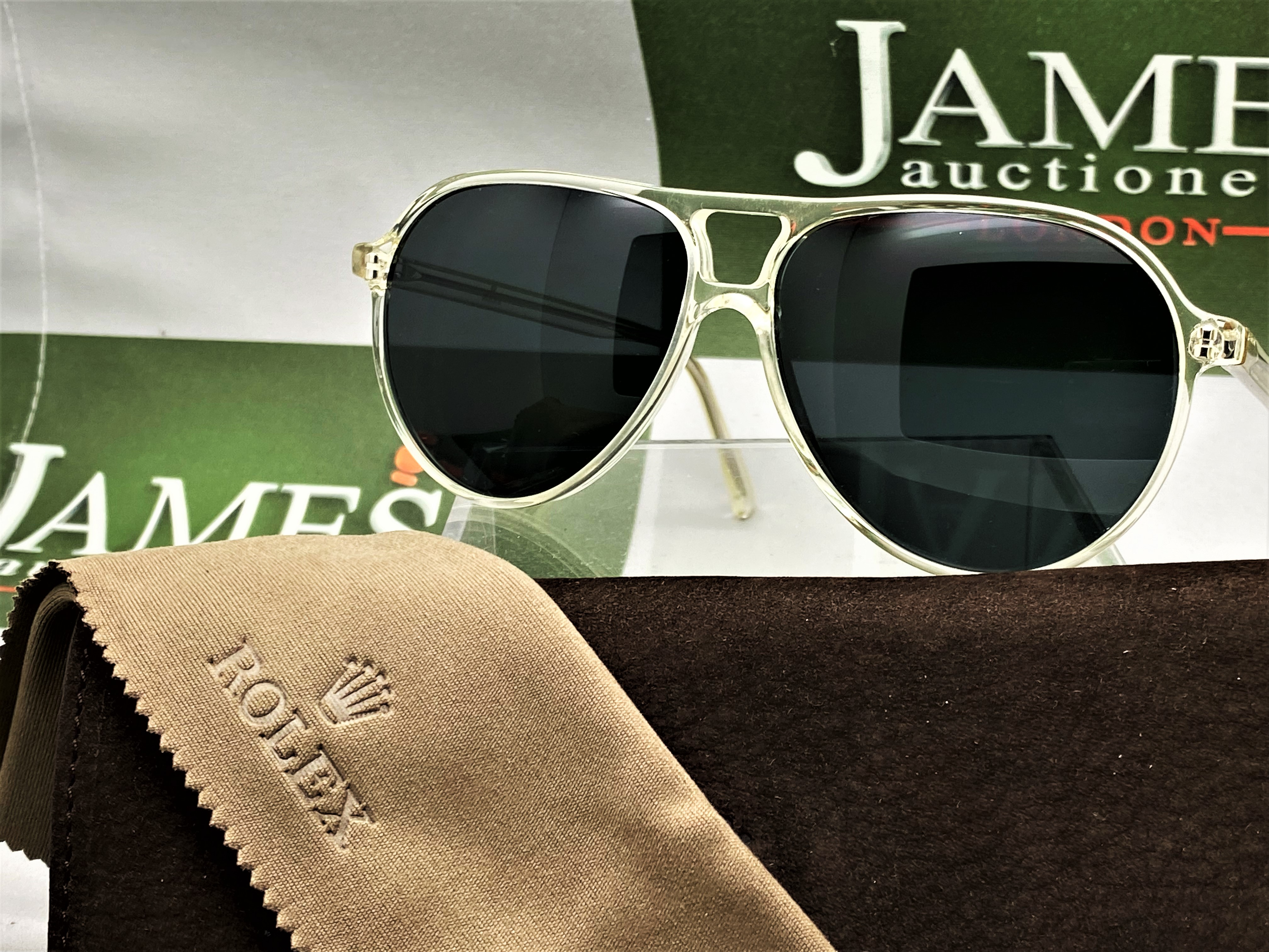 Rolex Official Merchandise Sunglasses-New Examples, Very Rare. - Image 6 of 7