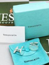 Tiffany & Co Classic Cufflinks Oval Edition Solid Silver