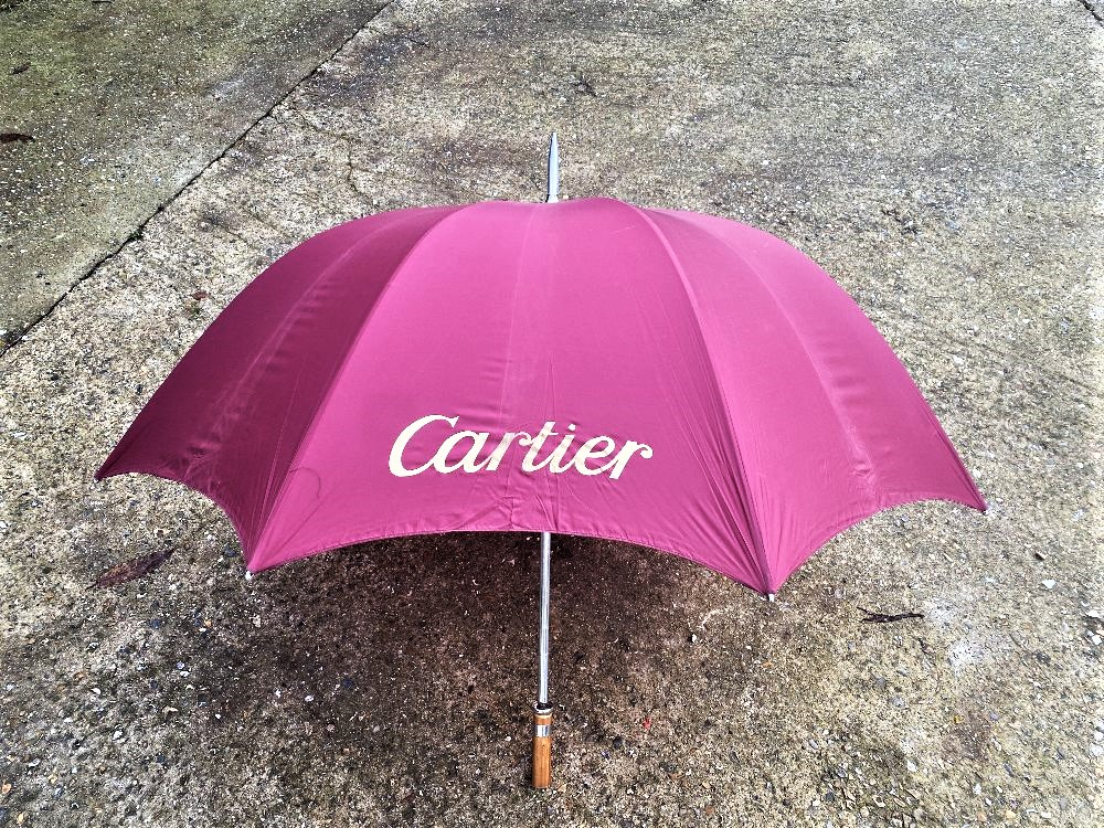 Cartier Paris- Ltd Edition Silk Umbrella
