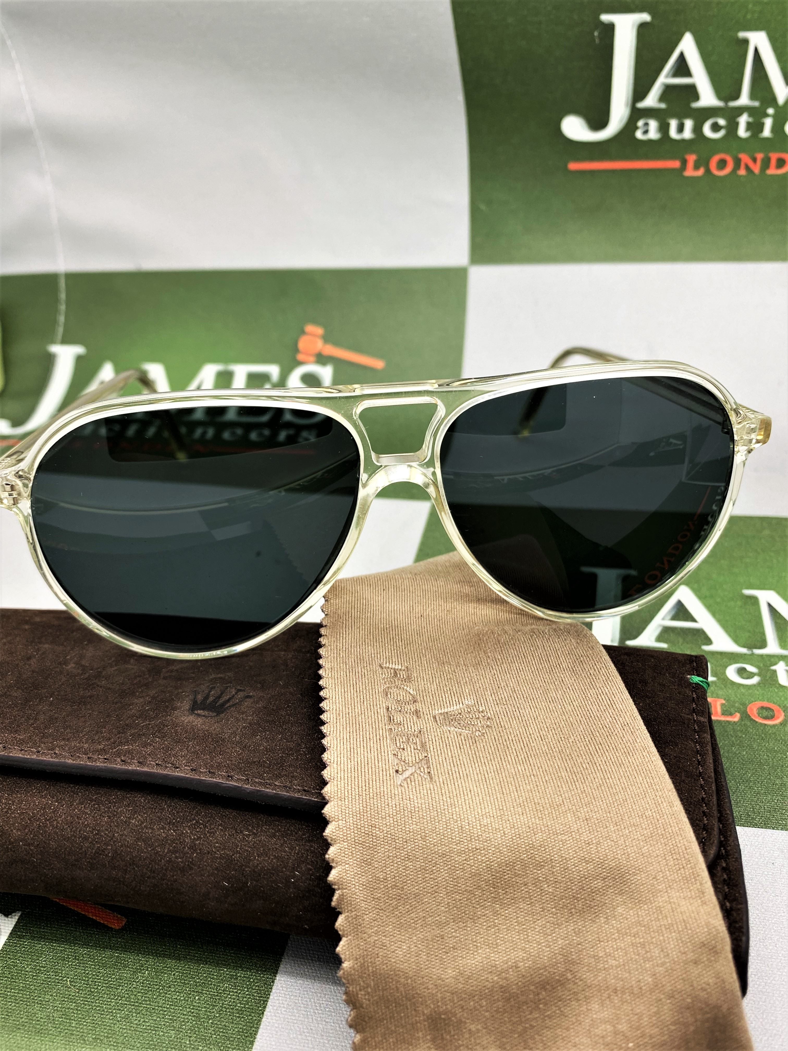 Rolex Official Merchandise Sunglasses-New Examples, Very Rare. - Image 4 of 7