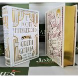 Barnes And Noble F Scott Fitzgerald Leather Bound Gold Leaf Special Edition Collection