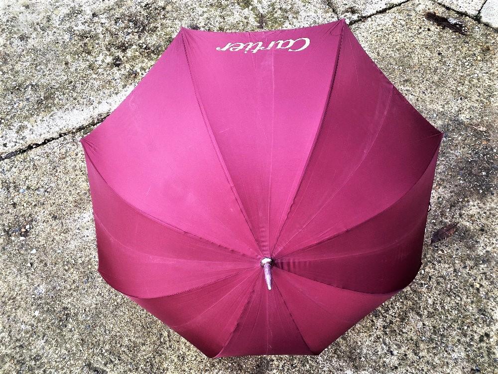 Cartier Paris- Ltd Edition Silk Umbrella - Image 2 of 6