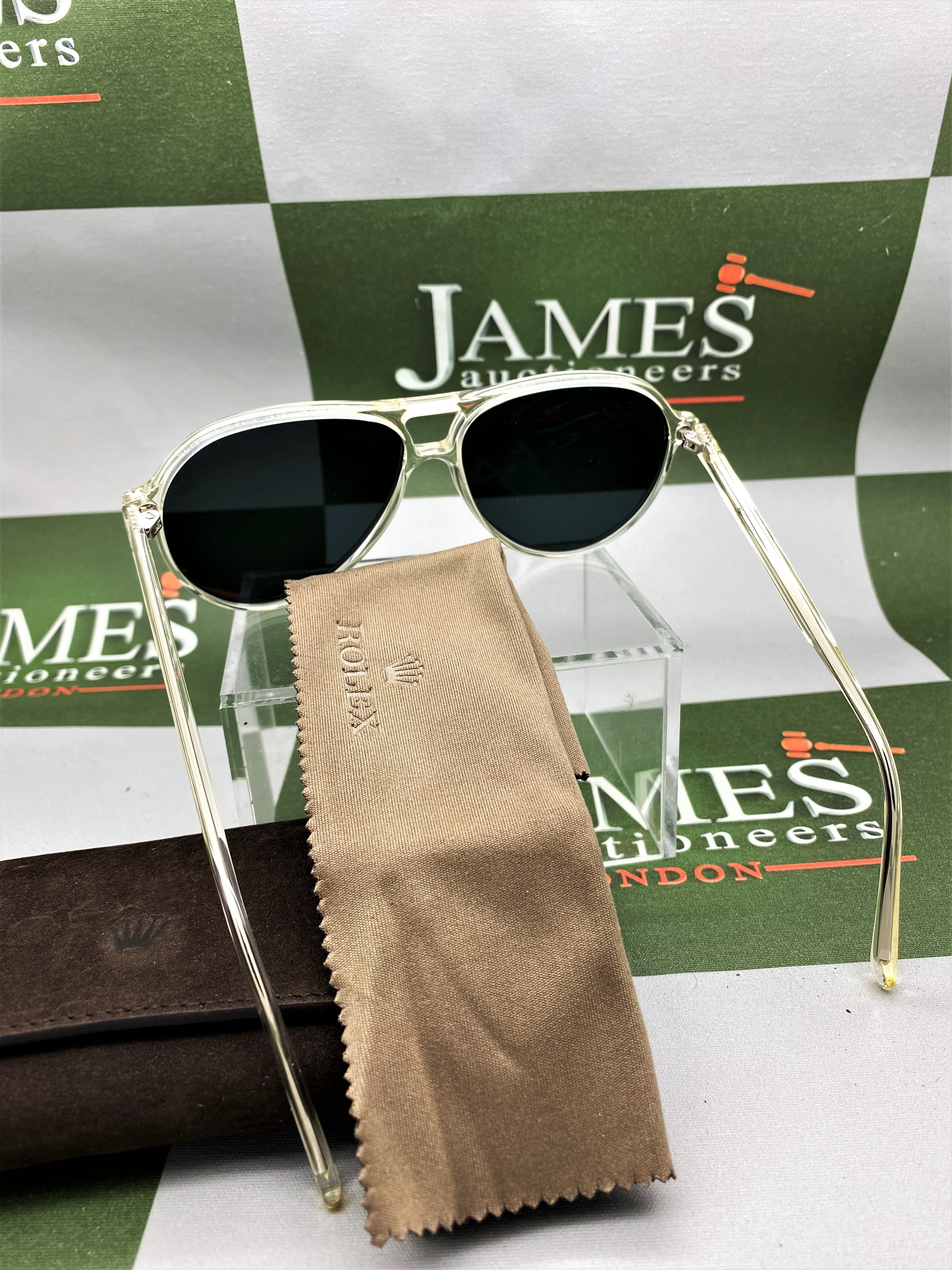 Rolex Official Merchandise Sunglasses-New Examples, Very Rare. - Image 3 of 7