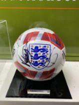 England European Finalists Signed 2020 Football & Case