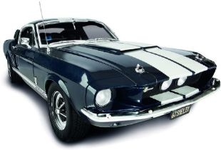 DeAgostini Hand Built - 1:8 Scale Model Ford Shelby Mustang GT-500