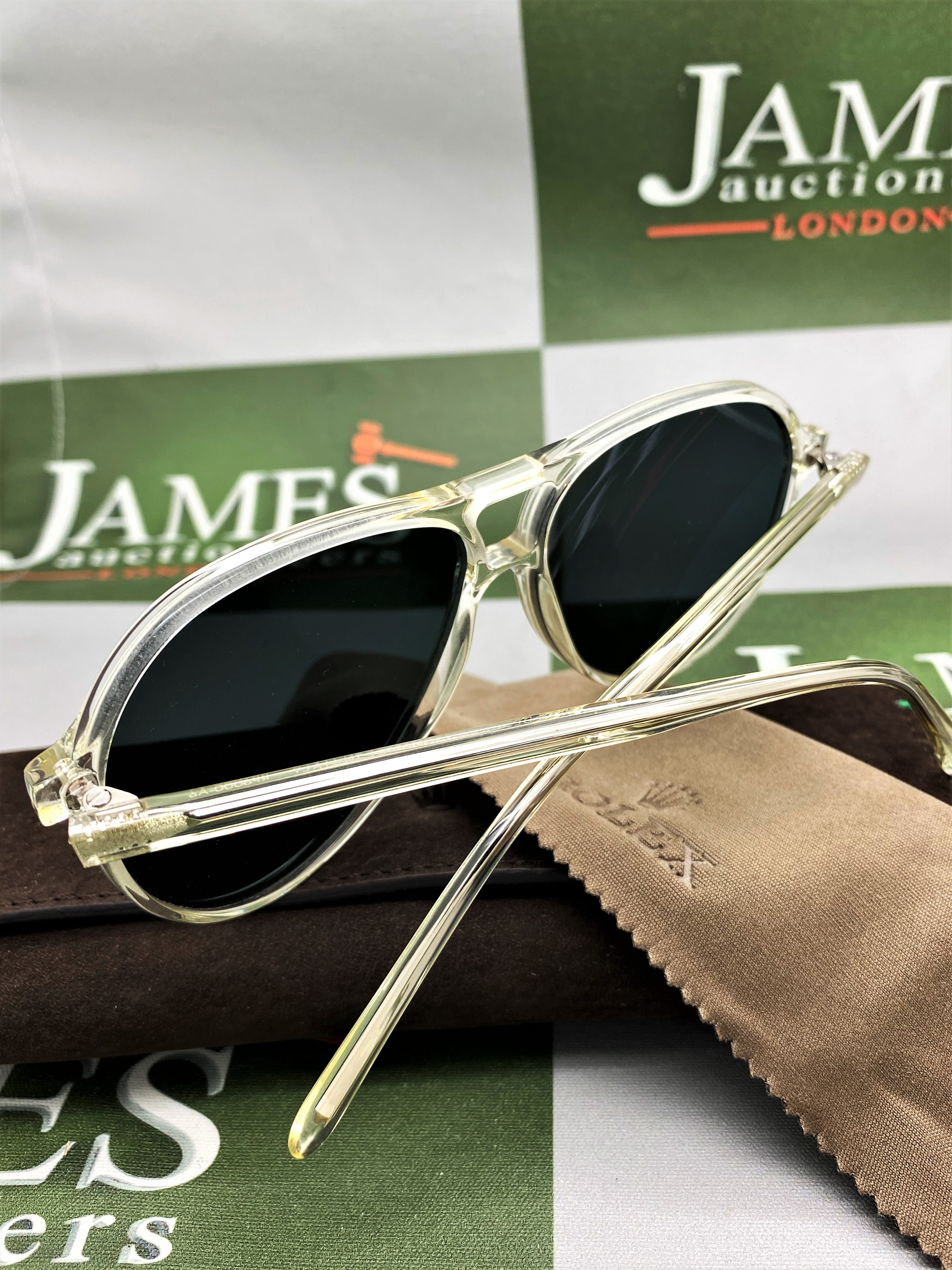 Rolex Official Merchandise Sunglasses-New Examples, Very Rare. - Image 2 of 7