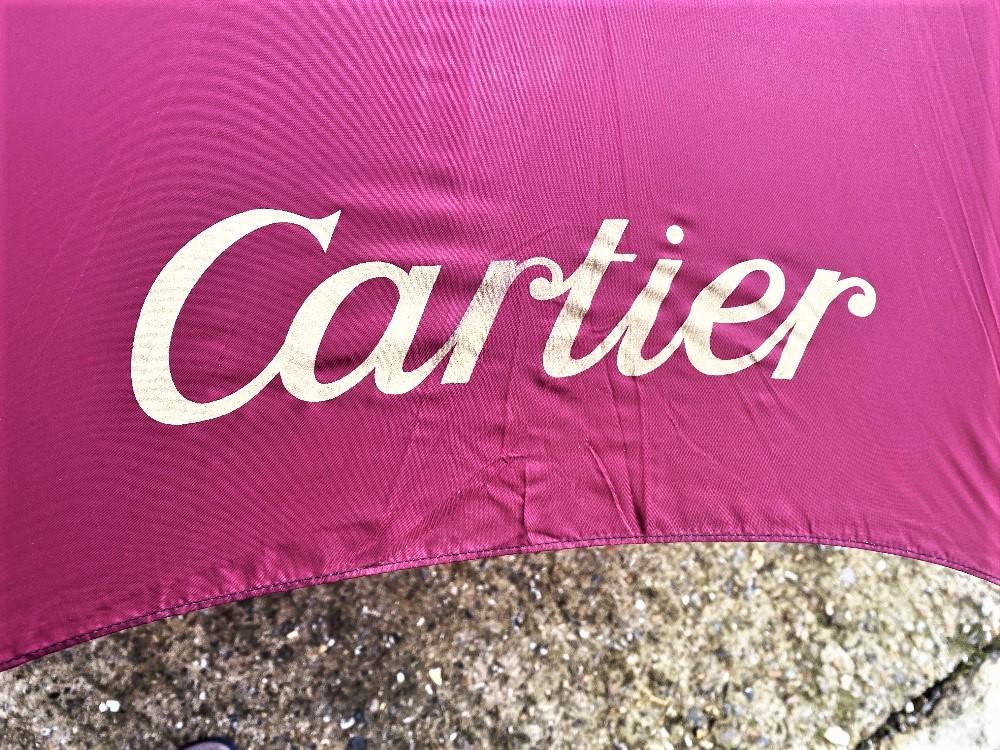 Cartier Paris- Ltd Edition Silk Umbrella - Image 4 of 6