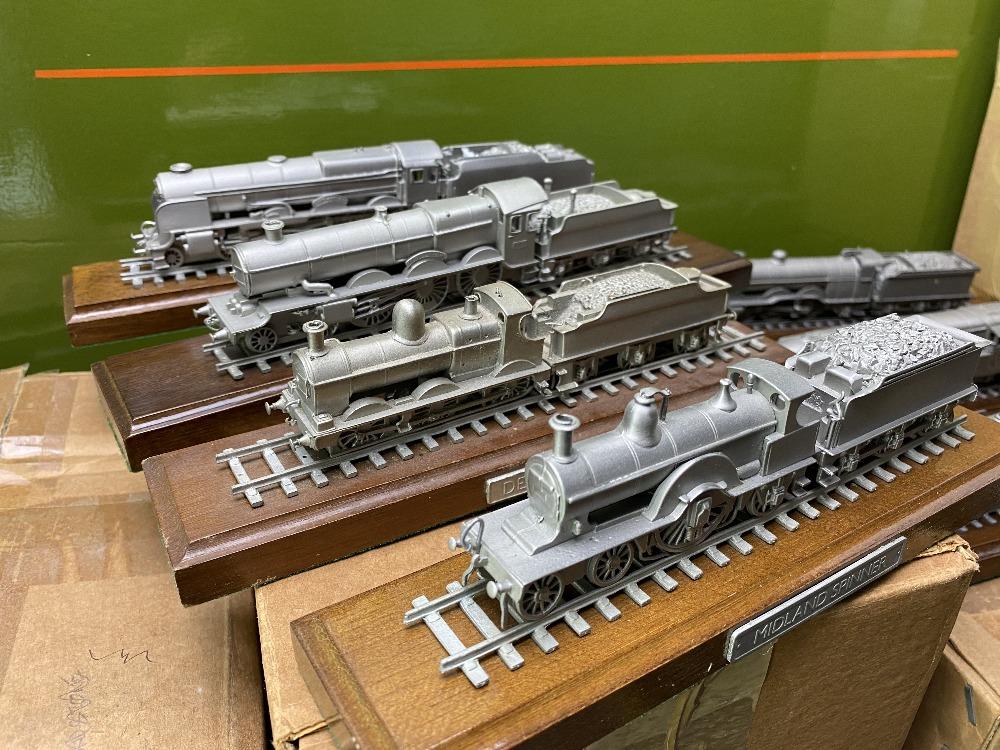 Danbury Mint Collection of Classic British Locomotive Trains - Image 5 of 6
