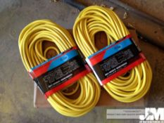 100 FT HEAVY DUTY OUTDOOR EXTENSION CORD ( 2 PER