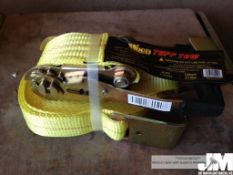 "2"" X 27 TUFF TOW RATCHET STRAPS ( 5 IN"