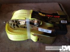 "2"" X 27 TUFF TOW RATCHET STRAPS ( 5 IN"