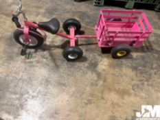 PINK TRICYCLE / WAGON COMBO