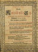Luther, Martin - - Kaspar Rothe. Gloria Lutheri, Das ist: Ruhm(m) un(n)d Ehrenpreiß des thewren