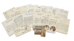 Preußen - - Arthur Freiher von Killinger. Sammlung von 15 eigenhändigen Briefen mit
