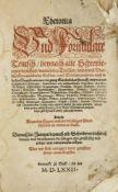 Rhetorik - Formularbücher - - Alexander Huge. Rhetorica und Formulare Teutsch, beyna