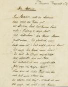 Bayern - - Bavaria-Sammlung: Briefe von Prinzen, Gedenkkarten und Briefmarken. 1816-1