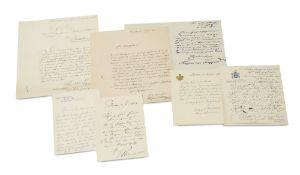 Berlin - Richard-Wagner-Denkmal - - Sammlung von ca. 160 Briefen die Einweihung und Enthüllung des