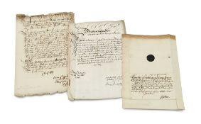 Sachsen-Gotha-Altenburg - Schwarzburg-Sondershausen - - Sammlung von 4 Briefen an Herzog