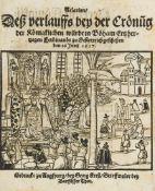 Relation deß Verlauffs bey der Crönung der königlichen Würde in Böham Ertzhertzogen Fer