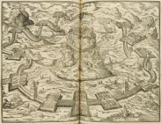 Gaius Julius Caesar. Rerum gestarum commentarii XIV. Omnia collatis antiquis manuscriptis ..