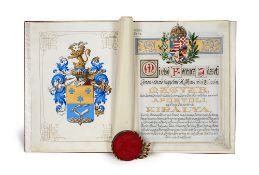 Kaiser Franz I. Erhebung in den
