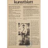 Avantgarde - Fluxus - - Kunstblatt.