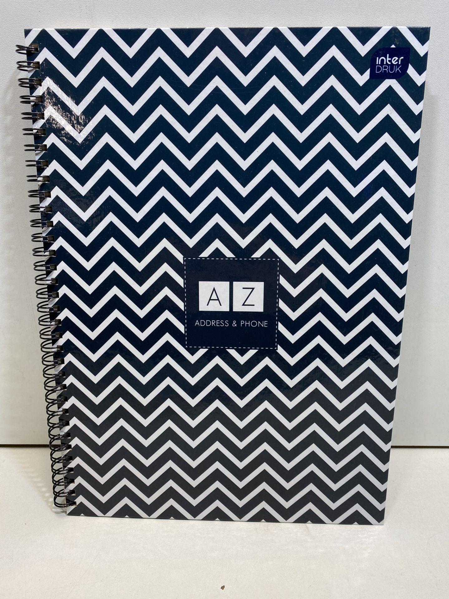 7 x Various A4 Address & Phone A-Z Notepads | 5902277171108