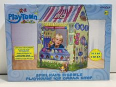 4 x John Playtown Ice Cream Shop Kids Play Tent | 4006149782025