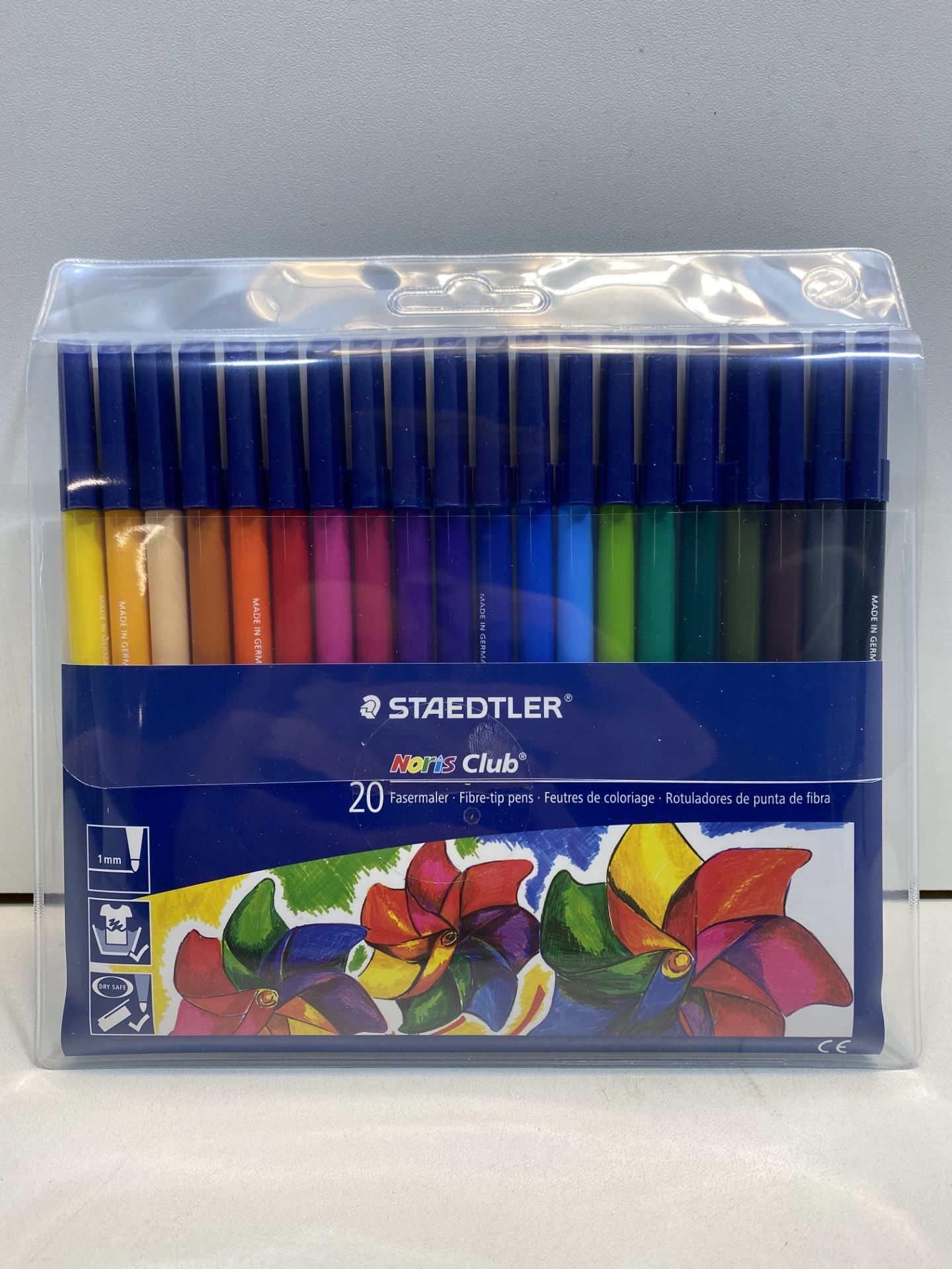 5 x Staedtler Noris Club Fibre Tipped Pens - Pack of 20 | 4007817339664