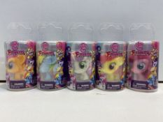 25 x Various Coloured My Little Pony Fashems Squishy Figurines | 673534520247