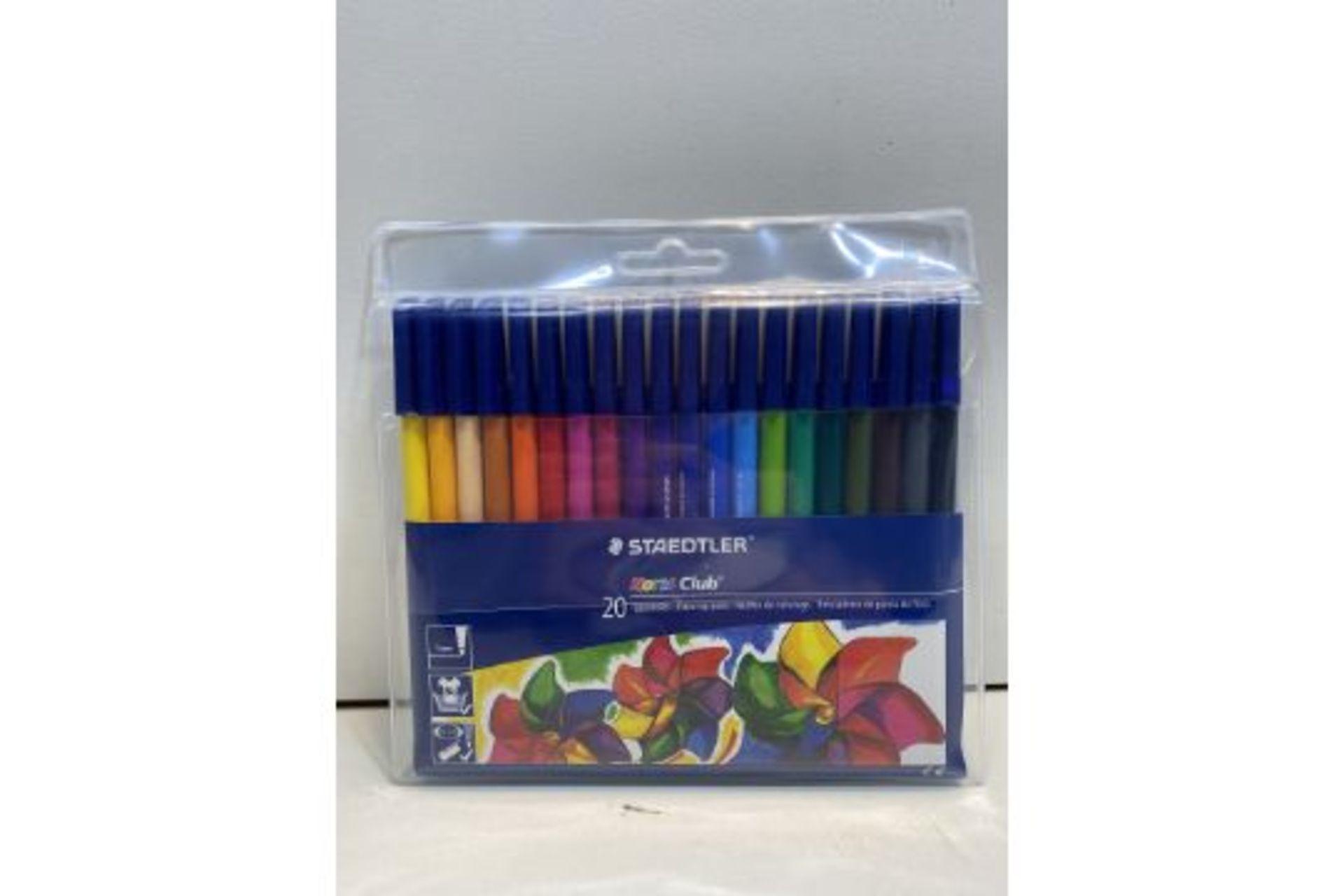 5 x Staedtler Noris Club Fibre Tipped Pens - Pack of 20   4007817339664