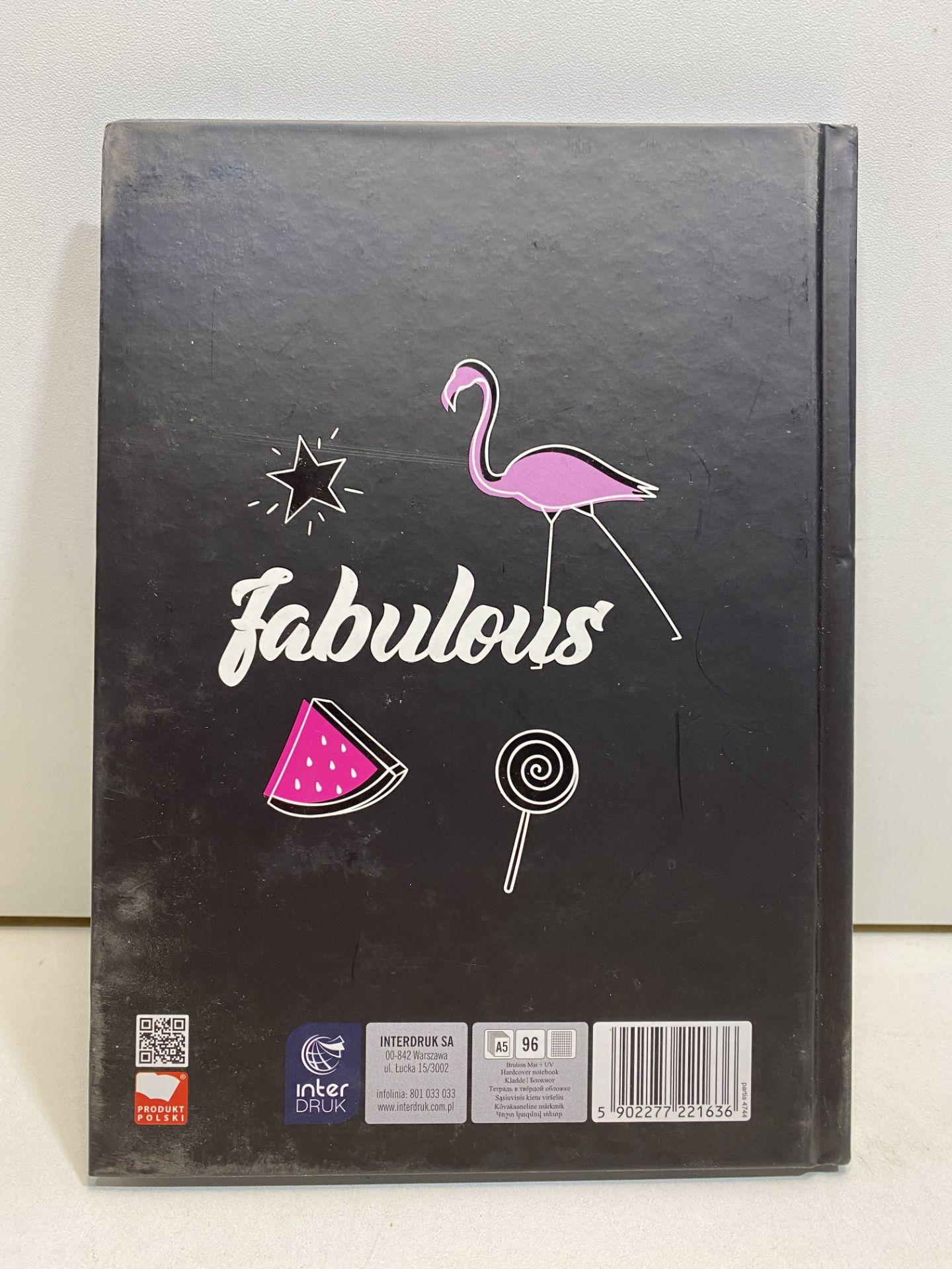 "3 x ""Chic Glamour Fabulous"" White Grid Notepad | 5902277221636 - Image 3 of 4"