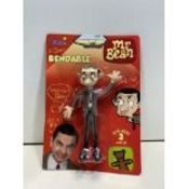 12 x 1990 NJCROCE MR BEAN BENDABLE - POSEABLE FIGURE NEW IN BLISTER PACK | 54382035013