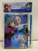 12 x DISNEY Frozen Secret Notebook & Pencil Set | 5060380913708
