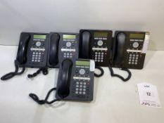 5 x Avaya 1408 Digital Handset Telephones
