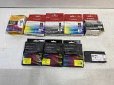 8 x Various Printer/Ink Cartridges as per pictures