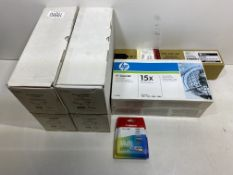 6 x Various Printer/Ink Cartridges as per pictures