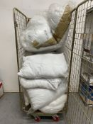 Approximately 15 x Uncased Pillows