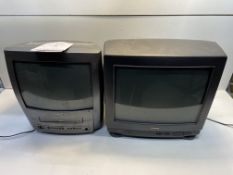 4 x Various Portable Televisions/PC Monitors