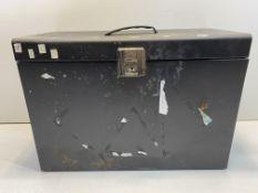 Black Tool Box - Steel