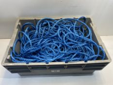 Large Quantity of Blue Rope