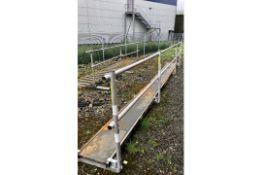Roof Access Equipment as per photos & description   Easi-Dec System & Youngman Board System