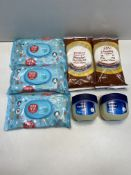 Various Hygiene Products